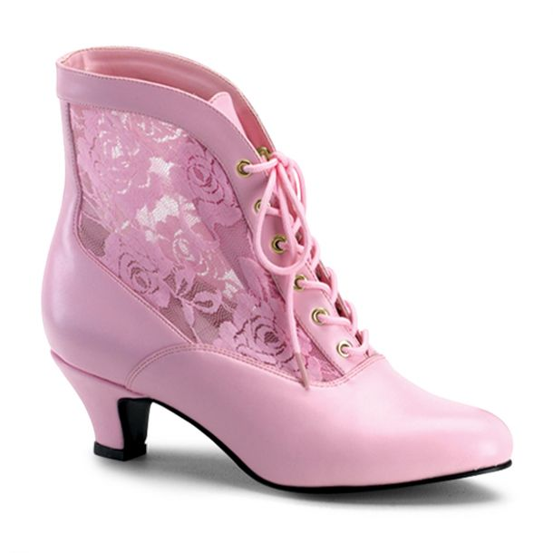 Stiefelette DAME-05 : Baby Pink*