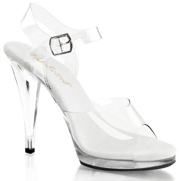 Sandalette FLAIR-408 - Klar/Weiß*
