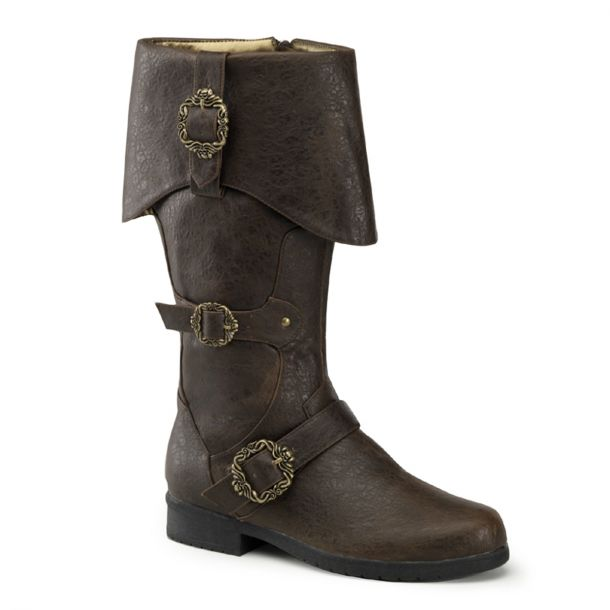 Piratenstiefel CARRIBEAN-299 - Braun