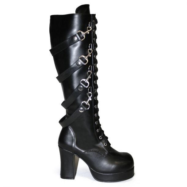 Gothic Plateaustiefel GOTHIKA-209*