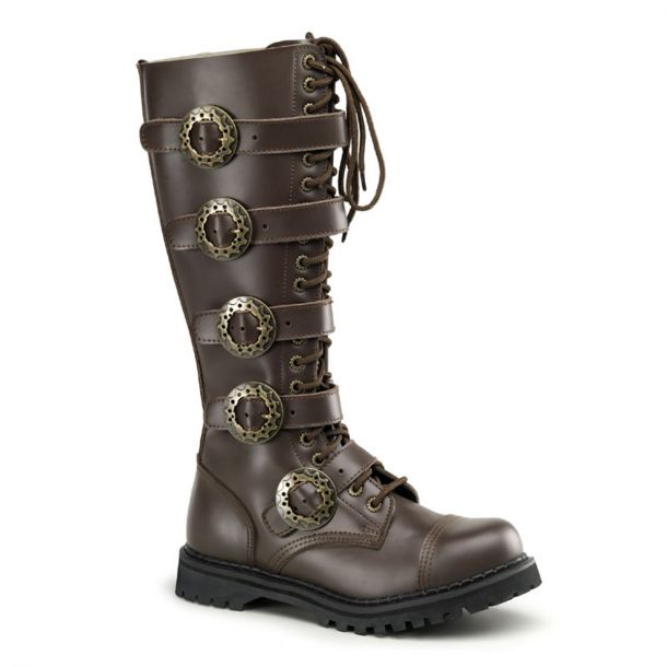 Gothic Stiefel STEAM-20 - Braun