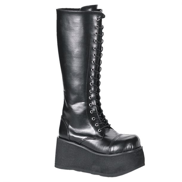 Gothic Plateaustiefel TRASHVILLE-502 - PU