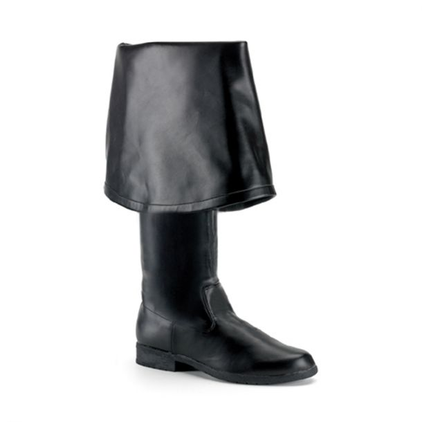 Stiefel MAVERICK-2045 - PU Schwarz