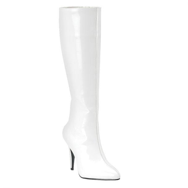 Stiefel LUST-2000 - Lack Weiß