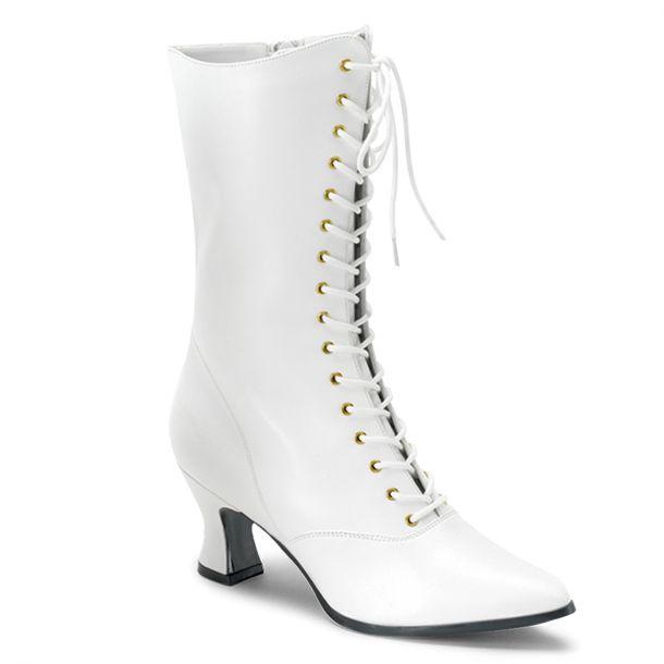 Stiefelette VICTORIAN-120 - Weiß
