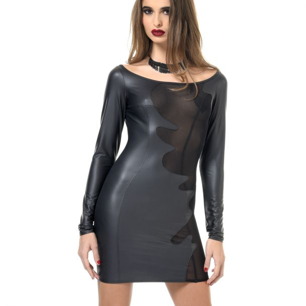 Wetlook Mini Kleid BRENDA