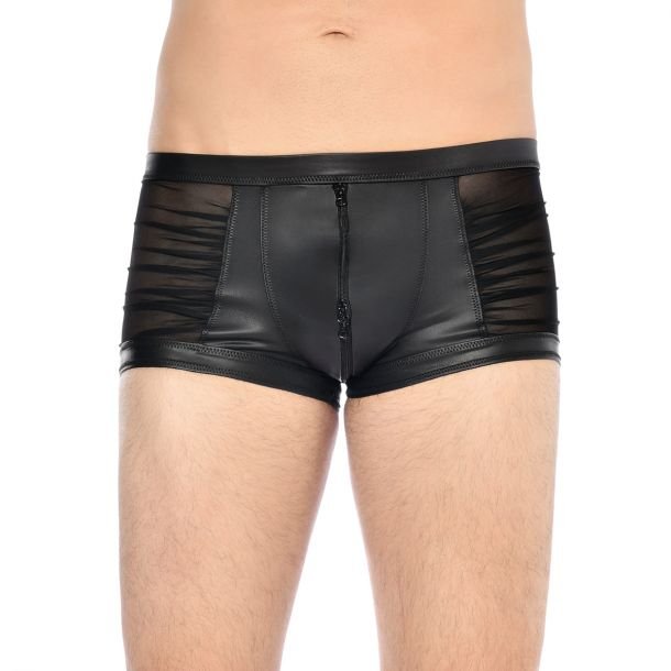 Wetlook Boxershorts THEON - Schwarz