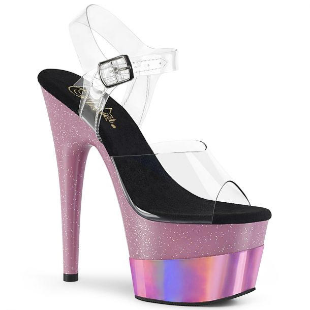 Plateau High Heels ADORE-708-2HGM - Baby Pink