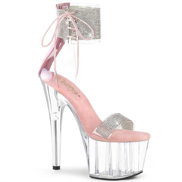 Plateau High Heels ADORE-727RS - Klar/Baby Pink*