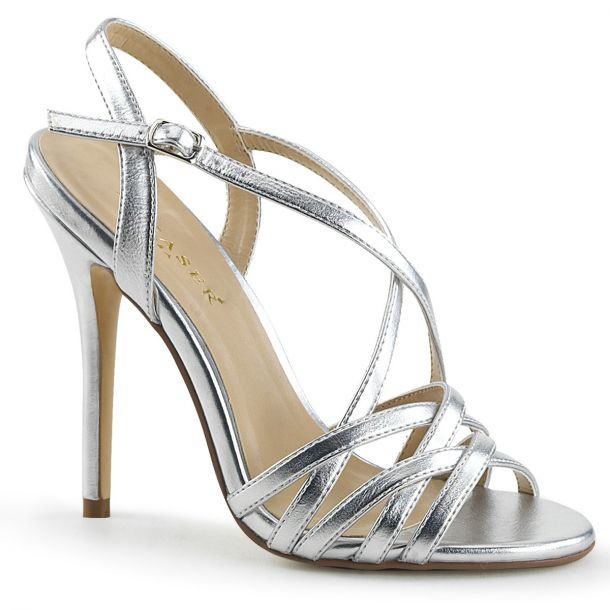 Sandalette AMUSE-13 - Silber