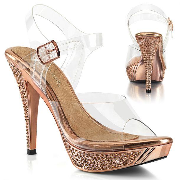 Sandalette ELEGANT-408 - Rose Gold