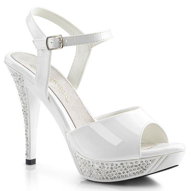 Sandalette ELEGANT-409 - Weiß
