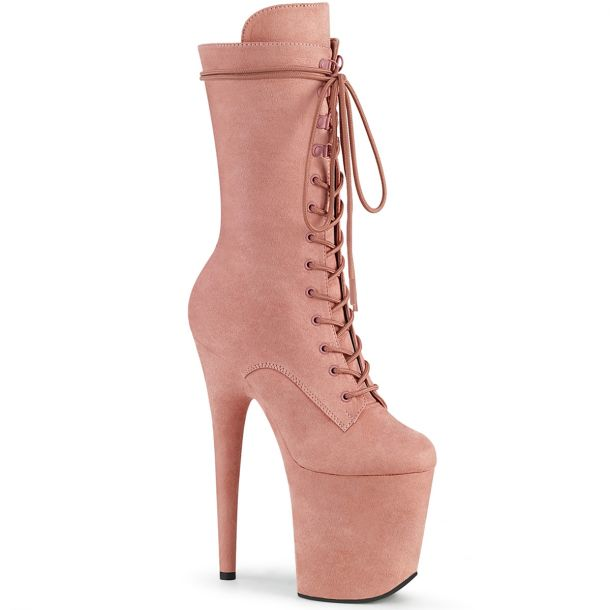 Extrem Plateau Heels  FLAMINGO-1050FS - Baby Pink