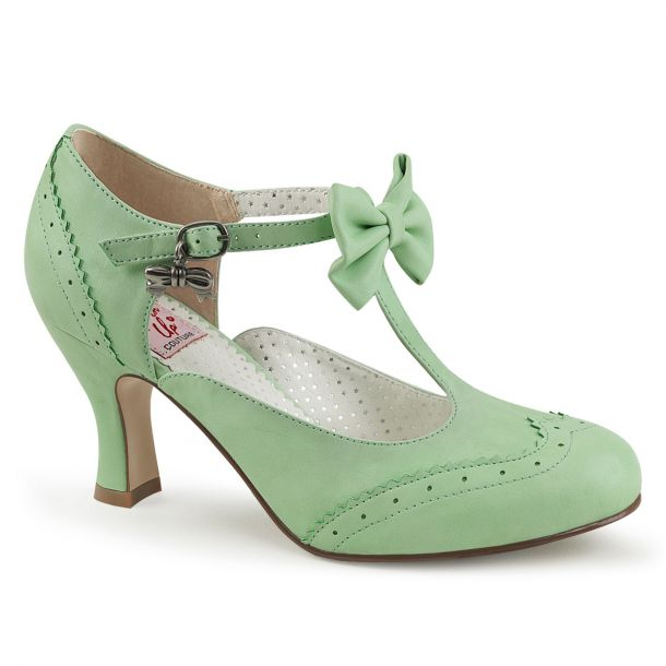 Kitten Heels FLAPPER-11 - Mint