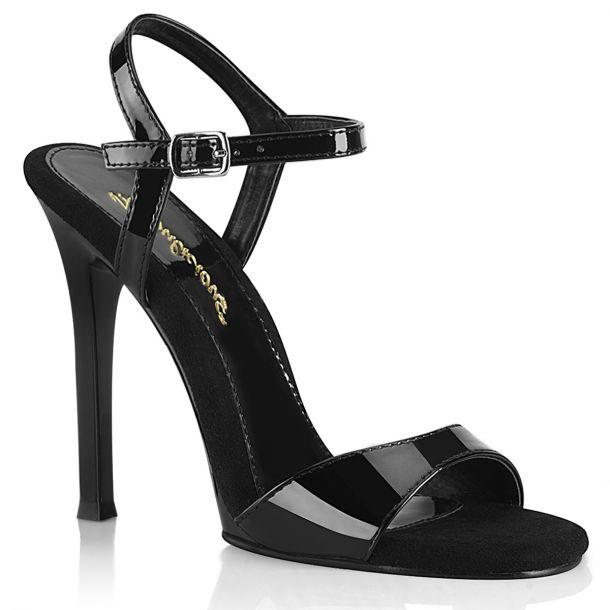 Sandalette GALA-09 - Lack Schwarz