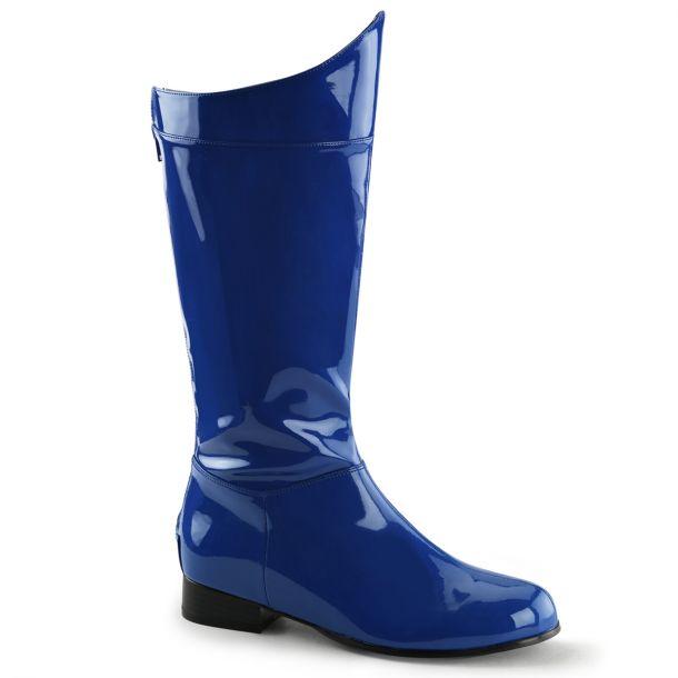 Herren Stiefel HERO-100 - Blau Lack