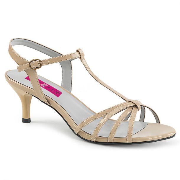Sandalette KITTEN-06 - Lack Creme