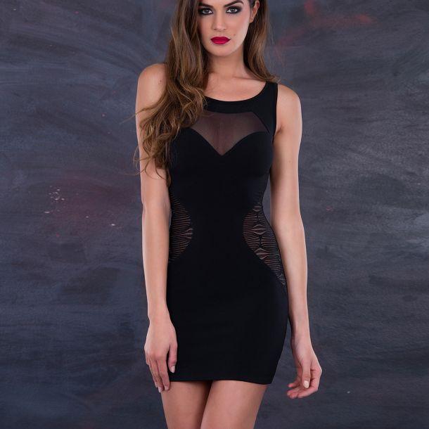 Ärmelloses Mini Kleid LOLY*