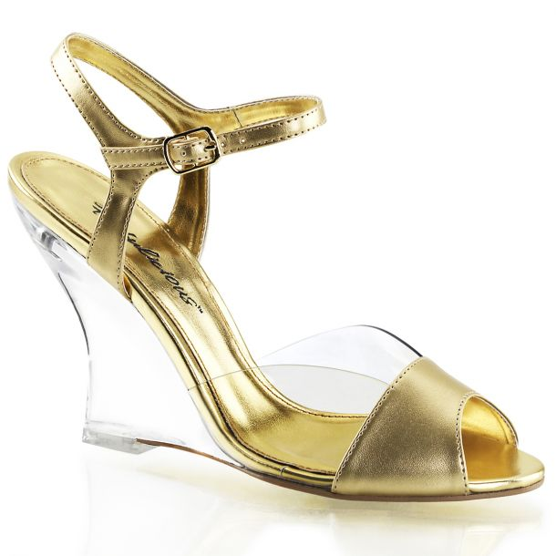 Wedges LOVELY-442 - PU Gold