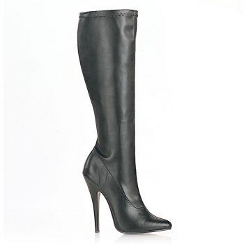 Extrem High Heels DOMINA-2000 - PU Schwarz