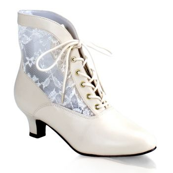 Stiefelette DAME-05 - Ivory*