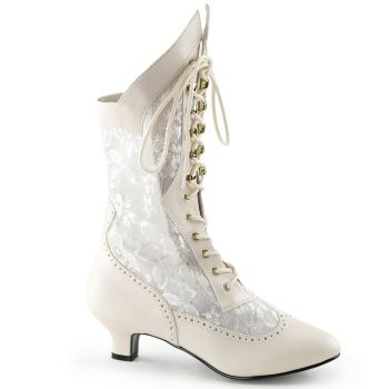 Stiefelette DAME-115 - Ivory*
