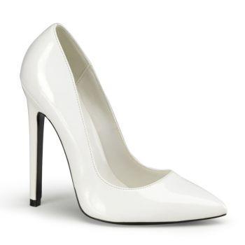 Stiletto High Heels SEXY-20 : Lack Weiß*