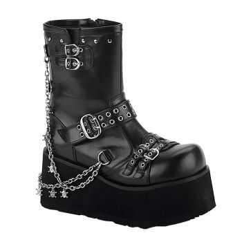 Gothic Plateaustiefel CLASH-430