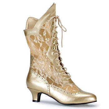 Stiefelette DAME-115 : Gold*