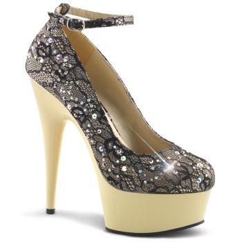 Plateau Pumps DELIGHT-686LC - Champagner*