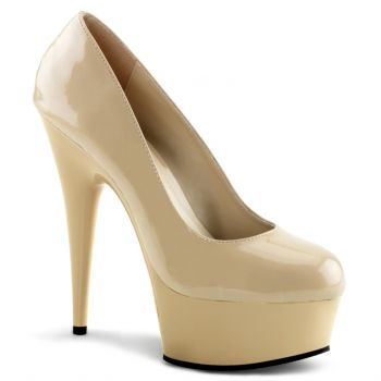 Plateau Pumps DELIGHT-685 : Creme*