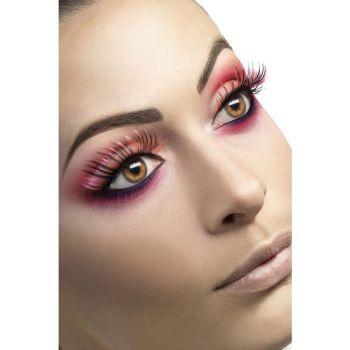 Augenwimpern - Pink/Schwarz*