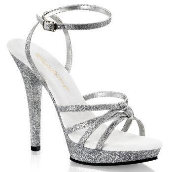 Sandalette LIP-128 - Silber Glitter