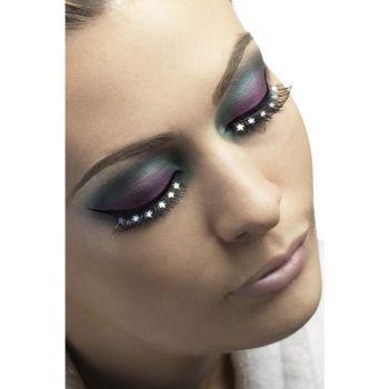 Augenwimpern : Schwarz mit Sternchen*