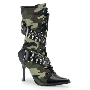 Stiefeletten MILITANT-128 : Camouflage