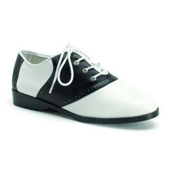 Saddle Shoes SADDLE-50 - Schwarz/Weiß