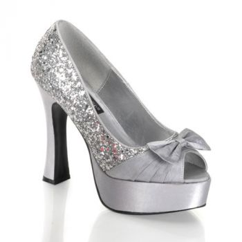 Plateau Pumps PARTY-42 : Silber*