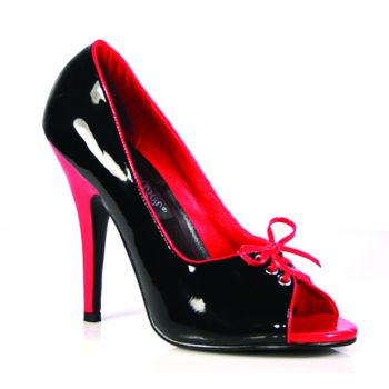 Pumps SEDUCE-216 - Lack  Schwarz/Rot