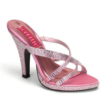 Pantolette SIREN-02R - Baby Pink