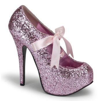 Plateau Pumps TEEZE-10G - Baby Pink