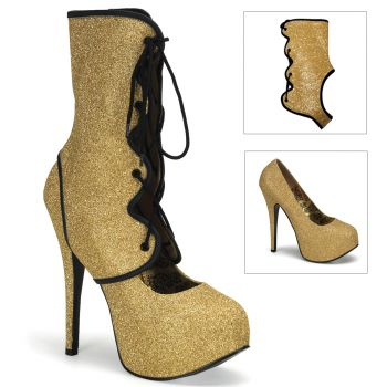Plateau Pumps TEEZE-31G - Gold*