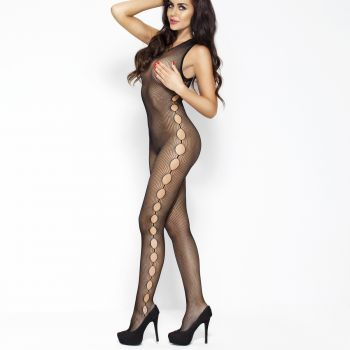 Ärmelloser Bodystocking BS003 - Schwarz*