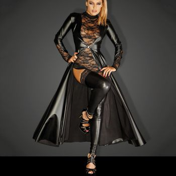 Powerwetlook Mantel DIVALICIOUS GOWN