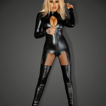 Powerwetlook Catsuit QUEEN