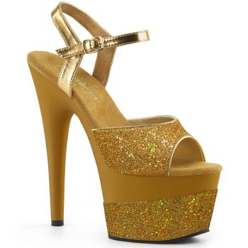 Plateau High Heels ADORE-709-2G - Gold