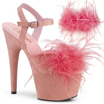 Plateau High Heels ADORE-709F - Baby Pink