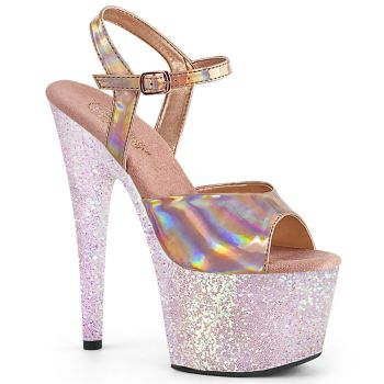Plateau High Heels ADORE-709HGG - Rose Gold