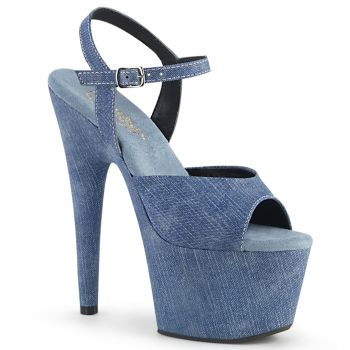 Plateau High Heels ADORE-709WR - Jeans