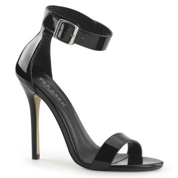 Sandalette AMUSE-10 - Lack Schwarz*
