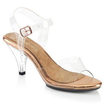 Sandalette BELLE-308 - Klar/Rose Gold*